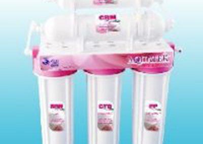 เครื่องกรองน้ำ 5 ขั้นตอน Aquatek (Pink)
