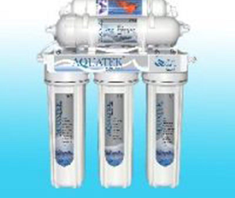 เครื่องกรองน้ำ 5 ขั้นตอน (Ceramic+Omnipure) Aquatek